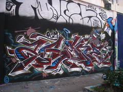 ZAONE (Billy Danze.) Tags: art basel 2016 graffiti miami zaone ogm