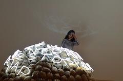 My head hurts! (silverwine) Tags: paris art nikon gallery contemporaryart modernart exhibition georgepompidoucentre d7000