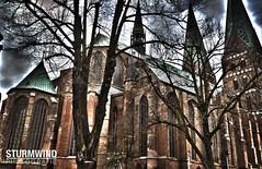 Marienkirche (SturmwindPhotografie) Tags: alt kirche lübeck stein türme mauer lüneburg marinkirche