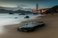 Marshall Beach x Golden Gate Bridge (tobyharriman) Tags: ocean sf california bridge toby seascape beach northerncalifornia rock night canon landscape golden bay coast gate san francisco long exposure scenic marshall lee nd area harriman filters grad parkpic