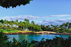 Waikoloa,  Big Island of Hawaii (HawaiianVirtualTours) Tags: ocean bridge beach bay nikon hilton chapel waikoloa bigislandofhawaii 18200mm d7000 nikond7000 hawaiianvirtualtours