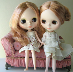(twinkle_moon_bunny) Tags: vinter twins sand pearl blythe matte arden sandmatted