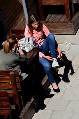 From Above (josephzohn | flickr) Tags: girls people fromabove tjejer människor uppifrån brahegatan skobyte