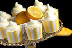 Lemon Snow Cone Cupcakes (IrishMomLuvs2Bake) Tags: food fun cupcakes lemon sugar desserts sweets lemoncupcakes