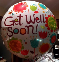 Get Well Soon Balloon (kristindye) Tags: house color home me nature kitchen june hospital balloons photography pain colorful balloon surgery medical noedit normal surgical bethesda kidney getwell 2012 nofilter getwellsoon hospitalroom kidneystone iphone iphone4 iphoneography bethesdanorth iphoneonly kidneystonesurgery