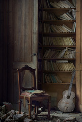 library and music ( explore ) (andre govia.) Tags: music abandoned window buildings book kent chair decay g library books best read edward urbanexploration mansion manor decayed decaying ue urbex bulwerlytton gitat andregovia