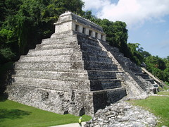 Temple of the Inscriptions, Palenque (Aidan McRae Thomson) Tags: mexico ancient ruins mayan palenque chiapas