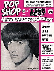Pop Shop Magazine Back Cover - 1966 (Patrick from Parka Avenue) Tags: vintage mod 60s 1966 retro mods teenbeat popshop 60sfashion