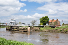 Cawood Swing Bridge (jimoftheday) Tags: bridge england unitedkingdom yorkshire swingbridge riverouse cawood sigma50mmf14exdghsm cawoodswingbridge