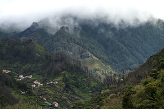 Madeira mountains (Francis Jimnez Meca) Tags: blue sky panorama mist mountain mountains flower green portugal nature beautiful rock clouds rural forest river landscape outdoors stream europe view hill scenic peak fresh ridge valley bloom wilderness viewpoint madeira hdr luxuriant