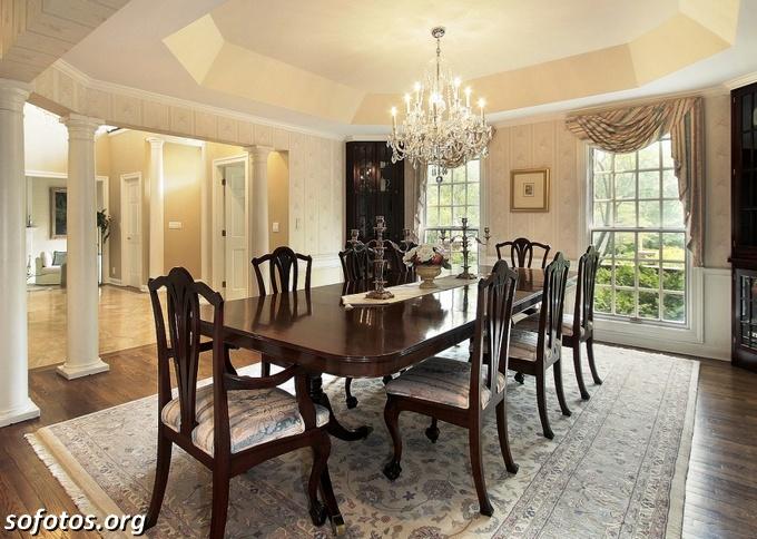 Salas de jantar decoradas (82)