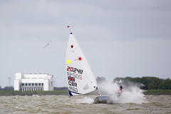 Delta Lloyd Regatta 2013  Sander van der Borch (BritishSailingTeam) Tags: netherlands europe thenetherlands olympic medemblik nld laserradial deltalloyd olympicclasses deltalloydregatta eurosafchampionssailingcup