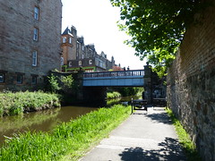 Union Canal Edinburgh (15) (Royan@Flickr) Tags: bridge trees water club boats canal edinburgh path union sunny cycle rowing boathouse waterways 20130525