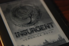 "Picture of the Day - May 20, 2013 / Sitzbook: ""Insurgent"" (sitzmansitzman) Tags: roth buch book libro veronica livro livre insurgent kindle"