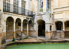Sacred Spring - Roman Baths - Bath, Avon, England, UK (Paul Diming) Tags: uk greatbritain england archaeology spring bath unitedkingdom hotspring romanbaths sacredspring d7000 pauldiming romanbathsbathengland