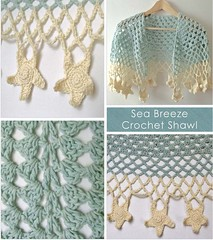 Sea Breeze Crochet Shawl copy (Wool n Hook) Tags: crochet haken croche tejer hkeln virka hkle ganchillo haakwerk hekle woolnhook szydelkowac