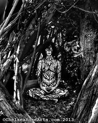 Earth Goddess (lucidRose) Tags: woman art nature nude portland spiral island or goddess mother meditation bodypainting spiritual bodyart sauvie earthgoddess chelsearosearts
