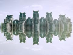 City of the Future (Seth Benson) Tags: uk england london photoshop mark flats ii 5d britian vauxhall cs5