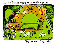 """For My Gezi Park Friends"" - a comic by eric Hews  2013 (eric Hews) Tags: park copyright money green illustration turkey fun virginia funny eric artist comic peace drawing politics humor cartoon emo protest creative funnies philosophy istanbul richmond strip writer comicstrip illustrator haha toon behavior society 2012 psychology gezi hews erichewscom erichews acrossthepond 2013erichews ennuizle"