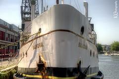 Balmoral (AreKev) Tags: uk cruise england museum bristol industrial ship cranes passenger hdr pleasure harbourside floatingharbour d90 photomatixpro mvbalmoral 18105mmf3556g