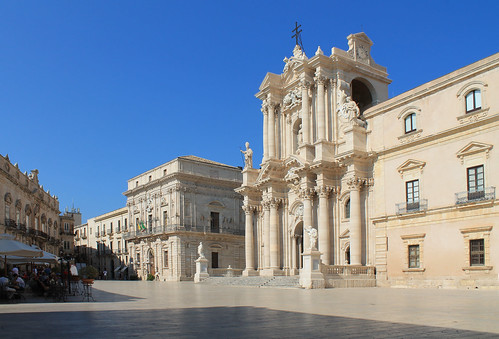 duomo in piazza-Siracusa by Antonella Profeta, on Flickr