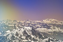Mont Blanc, Monte Rose and Matterhorn from plane (Vin on the move) Tags: travel summer italy france alps plane airplane switzerland fly flying day border montrose monterosa matterhorn montblanc italianalps montebianco swissalps cervin frenchalps fromwindow