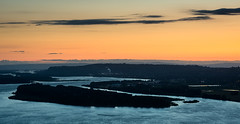 """After the Sunset"" (Waldemar*) Tags: sunset panorama usa oregon river portland nikon view ngc columbiariver pacificnorthwest gorge afs70200mmf28gvrii d800e"