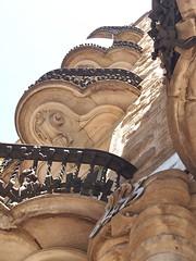 Works of Antoni Gaud in Barcelona (kyweb) Tags: barcelona sculpture detail art architecture facade design spain europe exterior balcony landmark catalonia structure gaudi baroque  antonigaudi      calvet casacalvet