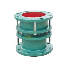 Double Flange Limited Telescopic Joint (Freede Valve) Tags: compensator exhausttube telescopicjoint sleeveexpansionjoint limitedtelescopicjoint