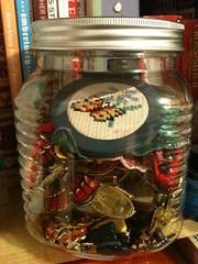 Butterfly Jar (stashheap) Tags: butterflies jar uploaded:by=flickrmobile flickriosapp:filter=nofilter