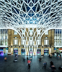 King's Cross Station Revisited. (Crusade.) Tags: city uk urban london station architecture canon kingscross tse tiltshift 5d2 tse17