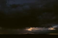 Rift (zh3nya) Tags: sunset storm newmexico southwest nature rio clouds outdoors grande desert plateau dramatic thunderstorm taos nm sunbreak riograndegorge 1855mmf3556 riogranderift d3100