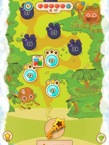 Jelly Splash Level Selection: screenshots, UI