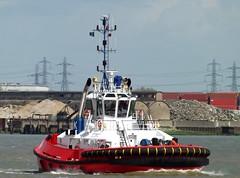 Zp Bear (4) @ Gallions Reach 07-05-15 (AJBC_1) Tags: uk england london boat ship unitedkingdom vessel tugboat tug riverthames damen eastlondon gallionsreach northwoolwich newham londonboroughofnewham kotug dlrblog damenshipyardsgroup ajc kotugeuropeanharbourtowage