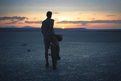 The glorious Slickey Lake (gabriel amadeus) Tags: camping mountain lake bike bicycle oregon desert or dry sage mtb steens mountainbiking gravel alvord southeastern bikepacking traveloregon ep514