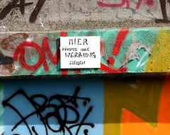 Hier knnte Ihre Werbung stehen. (universaldilletant) Tags: tile graffiti frankfurt fliese kachel hierknnteihrewerbungstehen ratswegkreisel