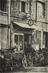 cyclist (Hayat Sokaklarda) Tags: portrait white house black nikon portre hayat sokaklarda d5100