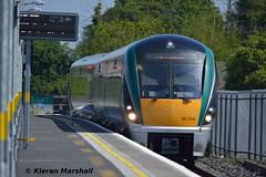 22046 arrives at Newbridge, 23/5/15 (hurricanemk1c) Tags: irish train rail railway trains railways newbridge irishrail rok rotem 22046 2015 icr iarnród 22000 éireann iarnródéireann 3pce 1120heustonnewbridge