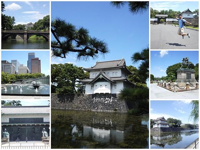 日本東京旅遊自助皇居外苑二重橋櫻田門和田倉噴水公園page