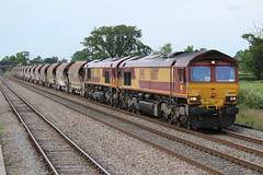 66007 & 66057 (6V69) (Worcestershed) Tags: class66 ews 66007 66057 dbshenker