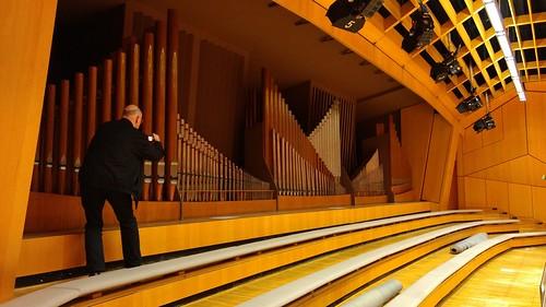 Konzertorgel im roßen Sendesaal des HR