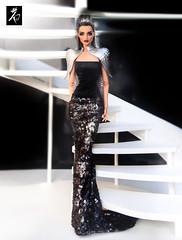 Metal Queen (kingdomdoll) Tags: queenofthenight queen beauty bjd resinfashiondoll glamour guinevere kingdomdoll kingdom doll
