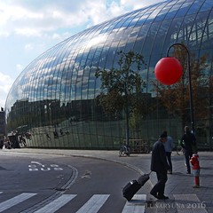 life within and without (lunaryuna) Tags: france lalsace strasbourg trainstation gare building architecture homourbe reflectiions distortions urbanskies travellinghome lunaryuna squareformat glassfacade