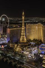 Paris in Vegas (Simon Huynh) Tags: lasvegas paris light city street hotel casino bally cosmopoliton