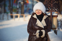 Ириша_05012016 (39) (Sonny05) Tags: canon 5dmarkii ef85mmf18 portrait lady winter light mood emotions