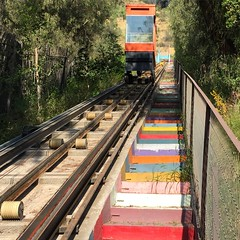 (raulurzua) Tags: ascensor parquedelainfancia cerrosancristobal santiago chile airelibre ferrocarril vehculo deporte