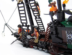 LEGO-Darkevil-19 (Sweeney Todd, the Lego) Tags: lego pirate pirateship zombie zombies ship boat pirates dead darkevil jack sparrow spooky