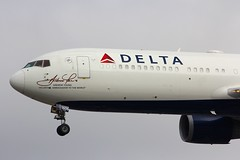 B767 N16065 London Heathrow 21.10.16 (jonf45 - 2.5 million views-Thank you) Tags: airliner civil aircraft jet plane aeroplane lhr egll london heathrow airport aviation boeing 767 b767 delta air lines 767332er n16065