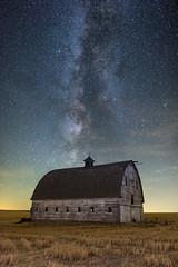 Palouse Patina Under the Stars (CraigGoodwin2) Tags: palouse barn stars milkyway easternwashington washingtonstate astrophotography