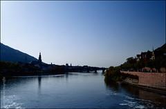 Heidelberg im Herbst (2) (Thaddl) Tags: nikonf100 nikonafnikkor3570mm13345 3570mmf3345af kodakektachromee100vs heliopandigitalpolcircular polarizer polfilter reflectaproscan7200 silverfast6aistudio heidelberg neckar kurpfalz